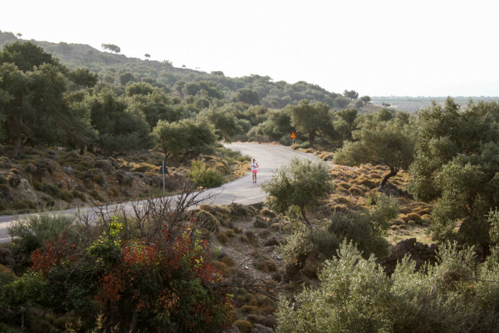 laufen, Kreta, Griechenland, © Martina Draper (10.10.2015)