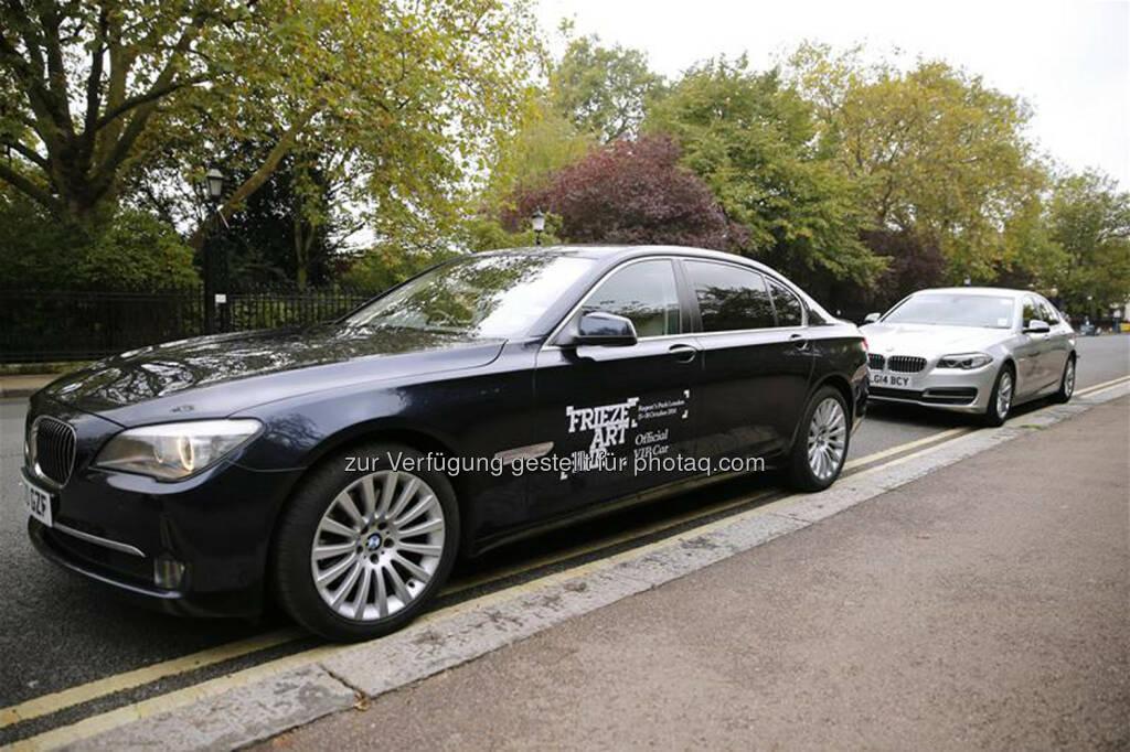 BMW Group als Partner der Frieze Art Fair in London,  die vom 14. bis 17. Oktober 2015 im Regent's Park stattfindet : © BMW Group, © Aussendung (12.10.2015)
