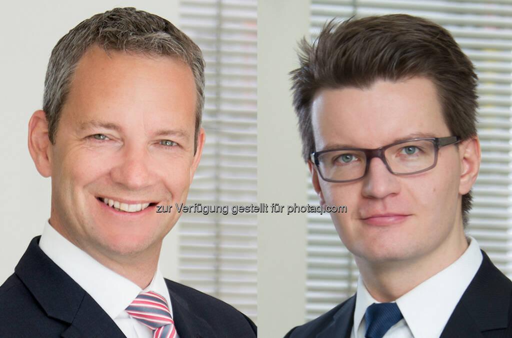 Florian Khol (Partner), Thomas Berghammer (Counsel) : Binder Grösswang beriet die Oberbank AG bei der erfolgreichen Kapitalerhöhung : Fotocredit: Binder Grösswang Rechtsanwälte GesmbH, © Aussendung (13.10.2015)