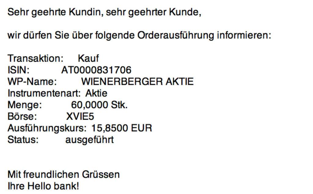Tag 71: Kauf 60 Wienerberger zu 15,85 (13.10.2015)