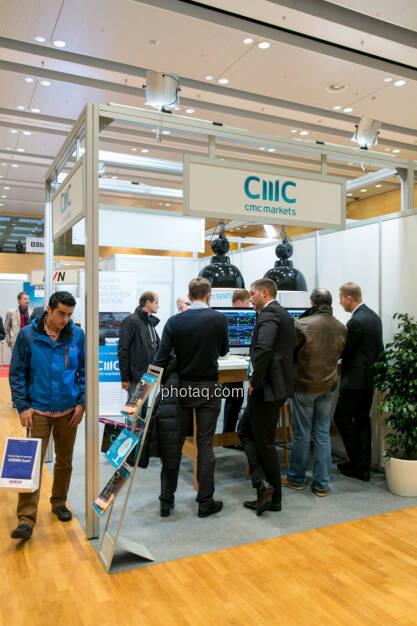 CMC Markets, © Martina Draper/photaq (15.10.2015)
