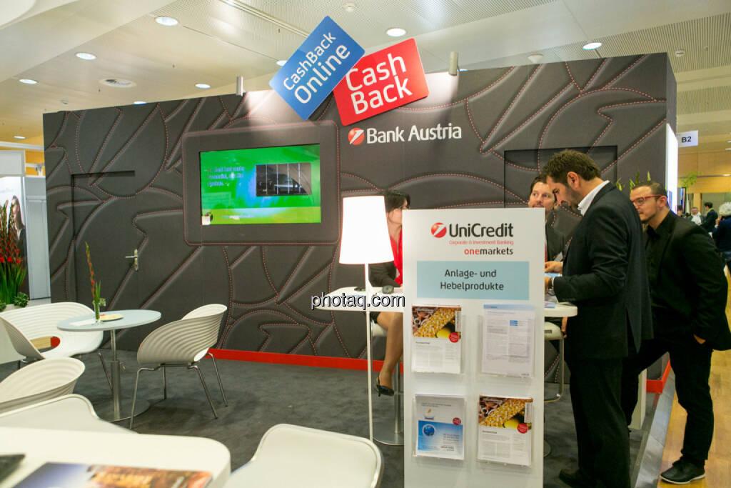 Bank Austria, UniCredit, © Martina Draper/photaq (15.10.2015)
