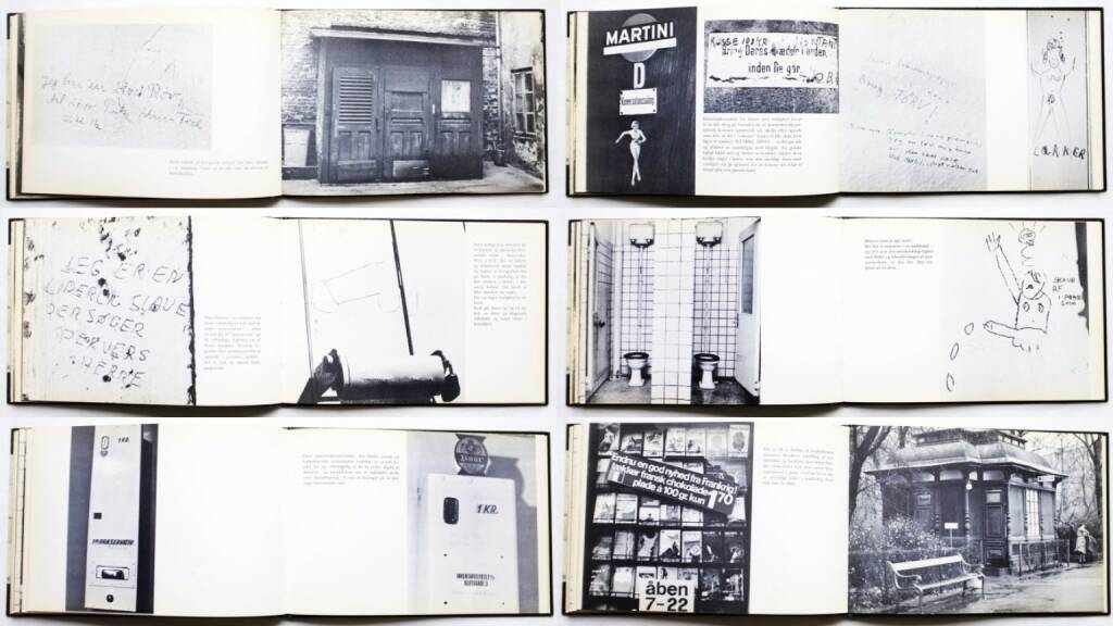 Ulrik Ross & Michael Rütz - Retiradekunst, Chr. Erichsens Forlag 1968, Beispielseiten, sample spreads - http://josefchladek.com/book/ulrik_ross_michael_rutz_-_retiradekunst, © (c) josefchladek.com (21.10.2015)