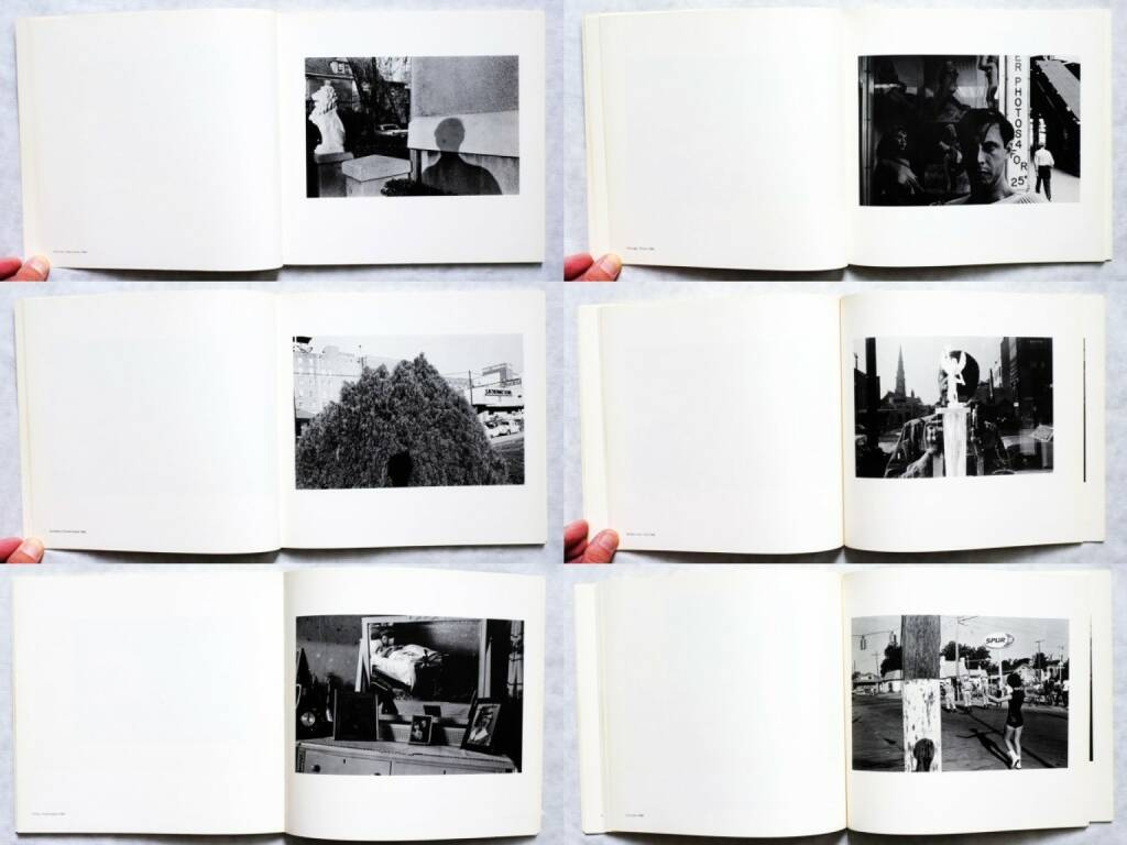 Lee Friedlander - Self Portrait, Haywire Press 1970, Beispielseiten, sample spreads - http://josefchladek.com/book/lee_friedlander_-_self_portrait, © (c) josefchladek.com (23.10.2015)
