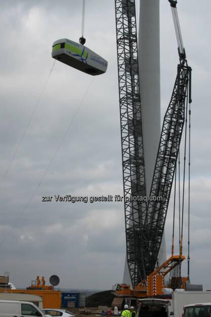 Windkraft Simonsfeld AG installiert zwei Windparks im Weinviertel, © Aussendung (23.10.2015)