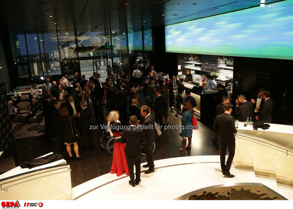 Gäste im Hotel Melia Vienna : Photo: GEPA pictures/ Walter Luger (30.10.2015)