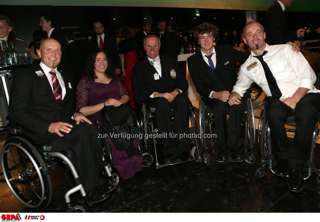 Walter Ablinger, Claudia Lösch, Wolfgang Schattauer, Thomas Geierspichler : Photo: GEPA pictures/ Walter Luger (30.10.2015)