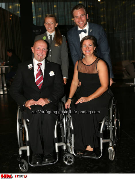 Walter Ablinger, Tanja Frank, Benjamin Karl, Sabine Weber-Treiber :  Photo: GEPA pictures/ Walter Luger (30.10.2015)