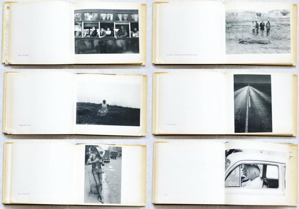 Robert Frank - The Americans, Grove Press 1959, Beispielseiten, sample spreads - http://josefchladek.com/book/robert_frank_-_the_americans, © (c) josefchladek.com (01.11.2015)