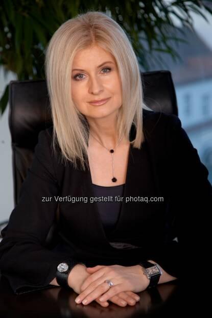 Sonja Sarközi (Vorstandsdirektorin) : Eine Bank mit Energie : easybank startet 'easy green energy' / neuer Online-Vertrieb für Strom und Gas : Fotocredit: easybank, © Aussendung (02.11.2015)