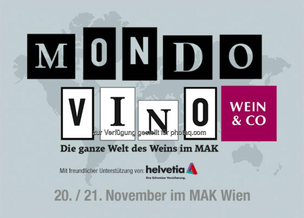 MondoVino 2015 - Die ganze Welt des Weins im MAK : Moderner, größer und erstmals mit Natural Wine Schwerpunkt : Fotocredit: Wein & CO, © Aussender (04.11.2015)