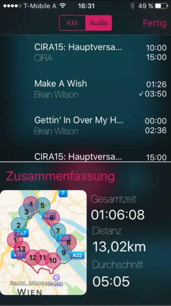 Comeback nach 1 Monat Pause: Gehört habe ich Brian Wilson von den Beach Boys im 5-Minuten-Mix mit einem Panel von der CIRA-Hauptversammlung #Arbeitenbeimlaufen (04.11.2015)