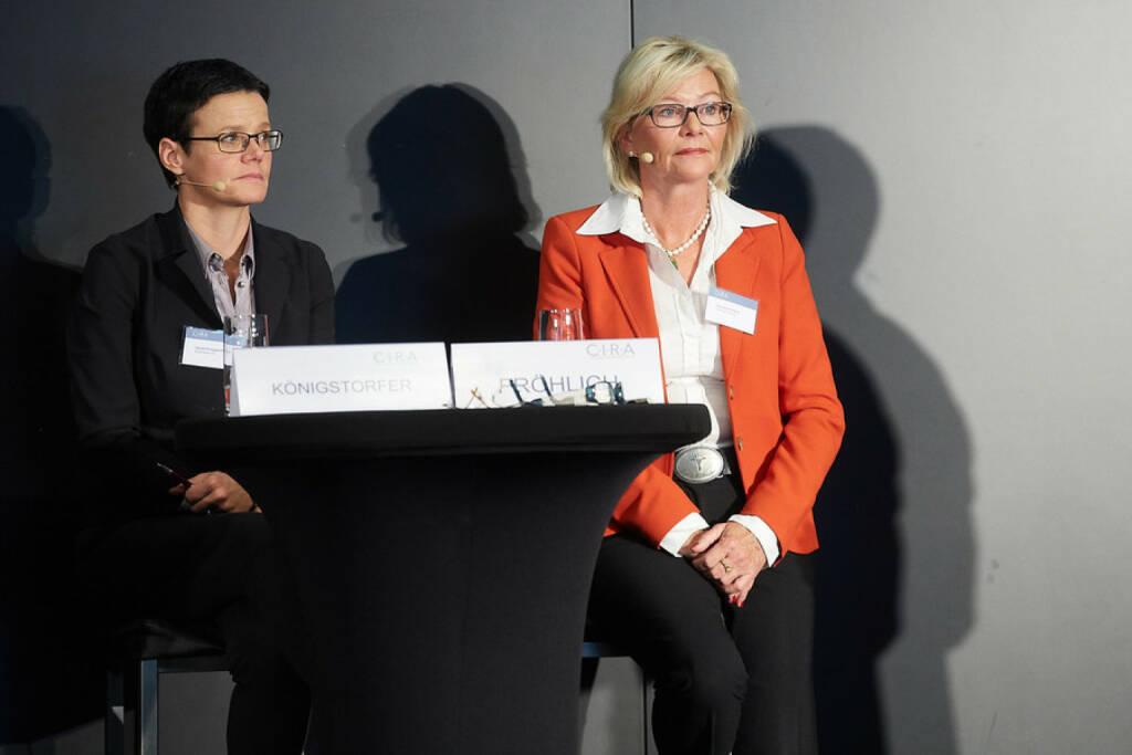 Gerda Königstorfer (Rosenbauer) - Gabriele Fröhlich, Akademie Mensch , © APA-Fotoservice für CIRA. Mit freundlicher Genehmigung der CIRA. (04.11.2015)