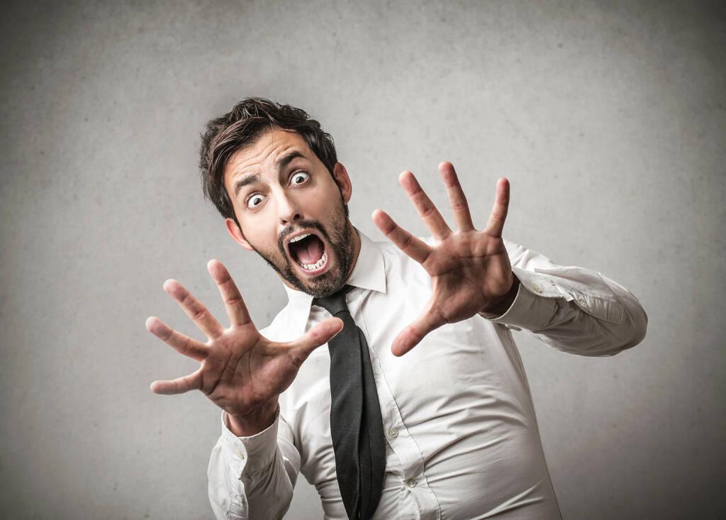 Angst, Schrei, Angstschrei, Furcht, fürchten http://www.shutterstock.com/de/pic-163177079/stock-photo-fearful-screaming.html, © www.shutterstock.com (25.11.2015)
