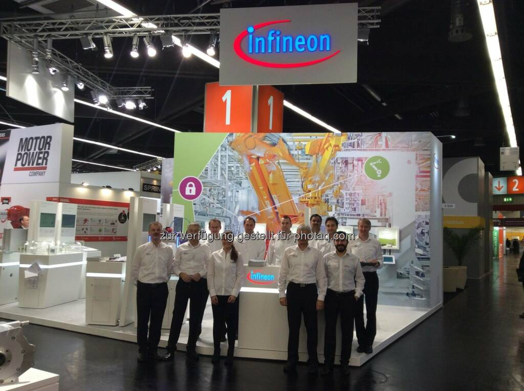 Infineon - Many thanks to all visitors on our booth at the SPS IPC Drives 2015!  If you missed the tradeshow or want to learn more about digital security and high system power density please visit our website here: http://www.infineon.com/sps   #sps15 #sps_live  Source: http://facebook.com/Infineon (27.11.2015)