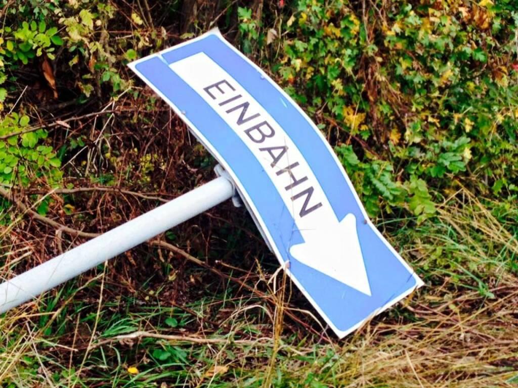 Einbahn nach unten, Baisse (30.11.2015)