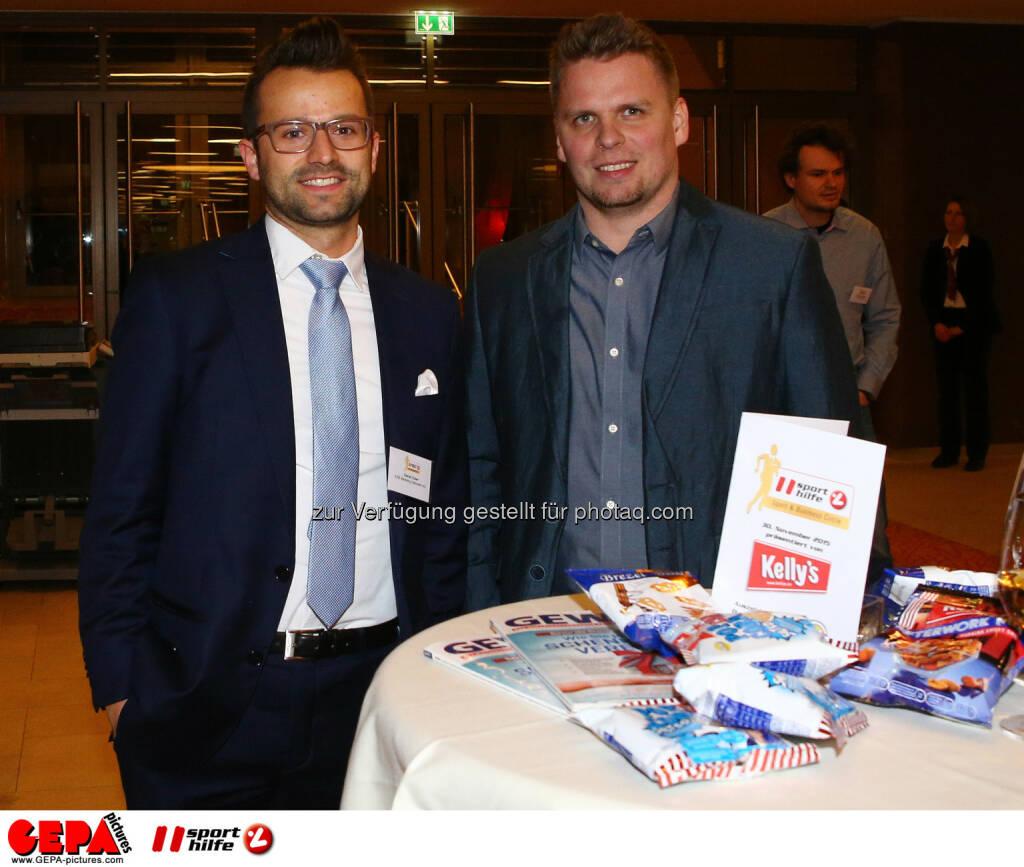 Daniel Zuber und Konrad Wilczynski (Photo: GEPA pictures/ Christian Ort), © Sporthilfe/GEPA (01.12.2015)