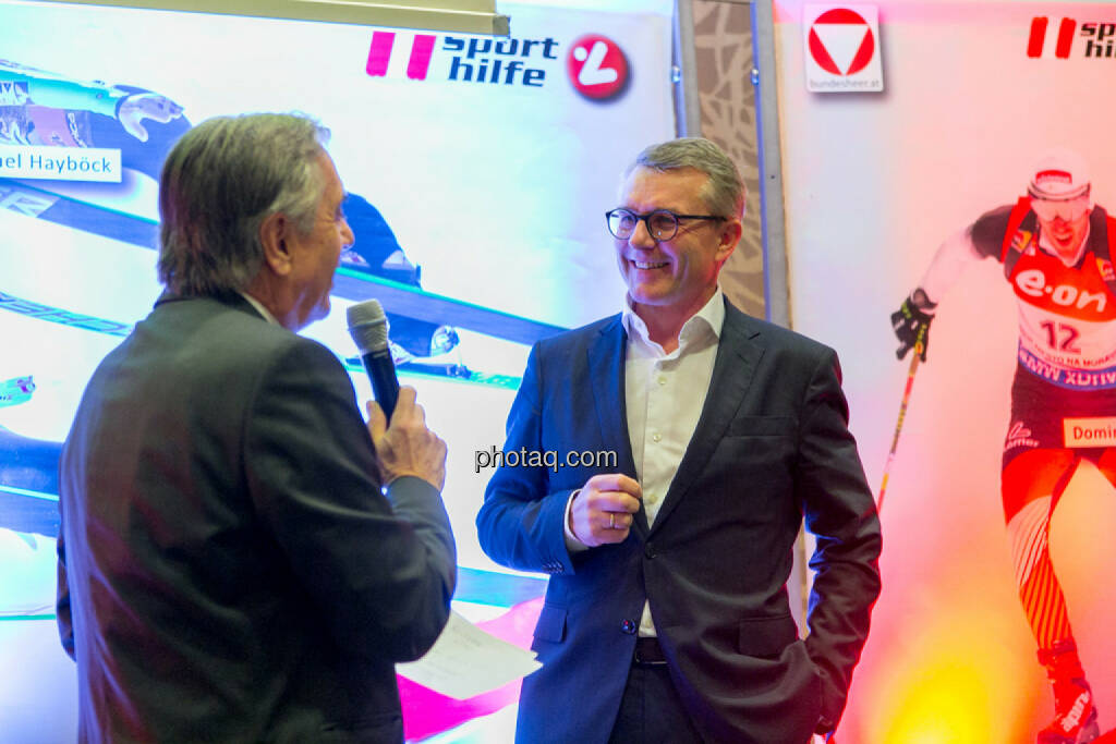 Hans Huber, Friedrich Roithner (KTM), © Martina Draper/photaq (02.12.2015)
