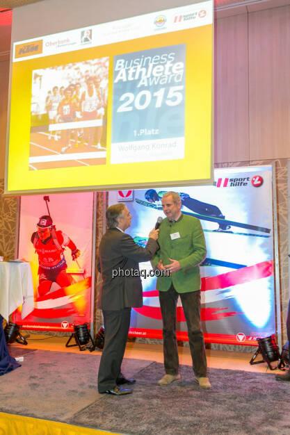 Hans Huber, Wolfgang Konrad (VCM), © Martina Draper/photaq (02.12.2015)