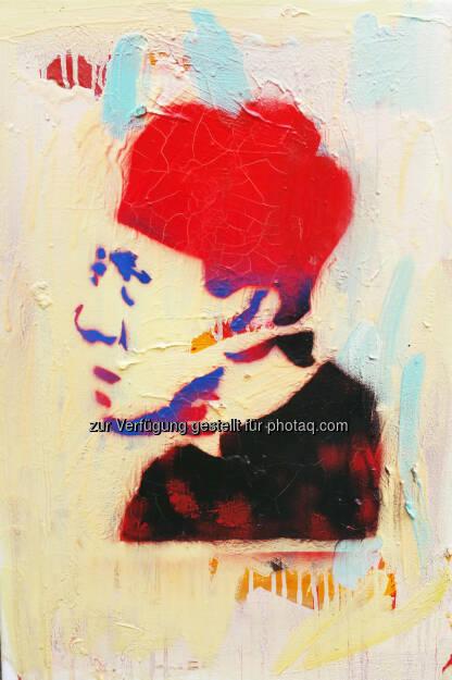 Werk der Malerin Nina Maron : Vernissage Nina Maron  Half love : Die Treiber.Galerie.Schauplatz zeigt ab 10. Dezember 2015 ausgewählte Werke der in Wien lebenden Malerin Nina Maron : Präsentiert werden rund 70 Bilder der Künstlerin : Fotocredit: Nina Maron, © Aussendung (04.12.2015)