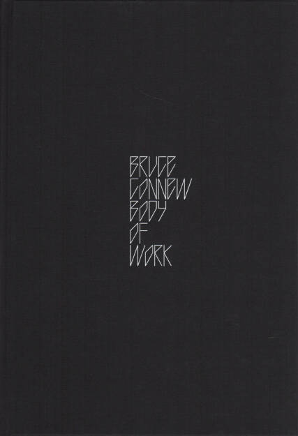 Bruce Connew - Body of Work, Self published 2015, Cover - http://josefchladek.com/book/bruce_connew_-_body_of_work, © (c) josefchladek.com (06.12.2015)