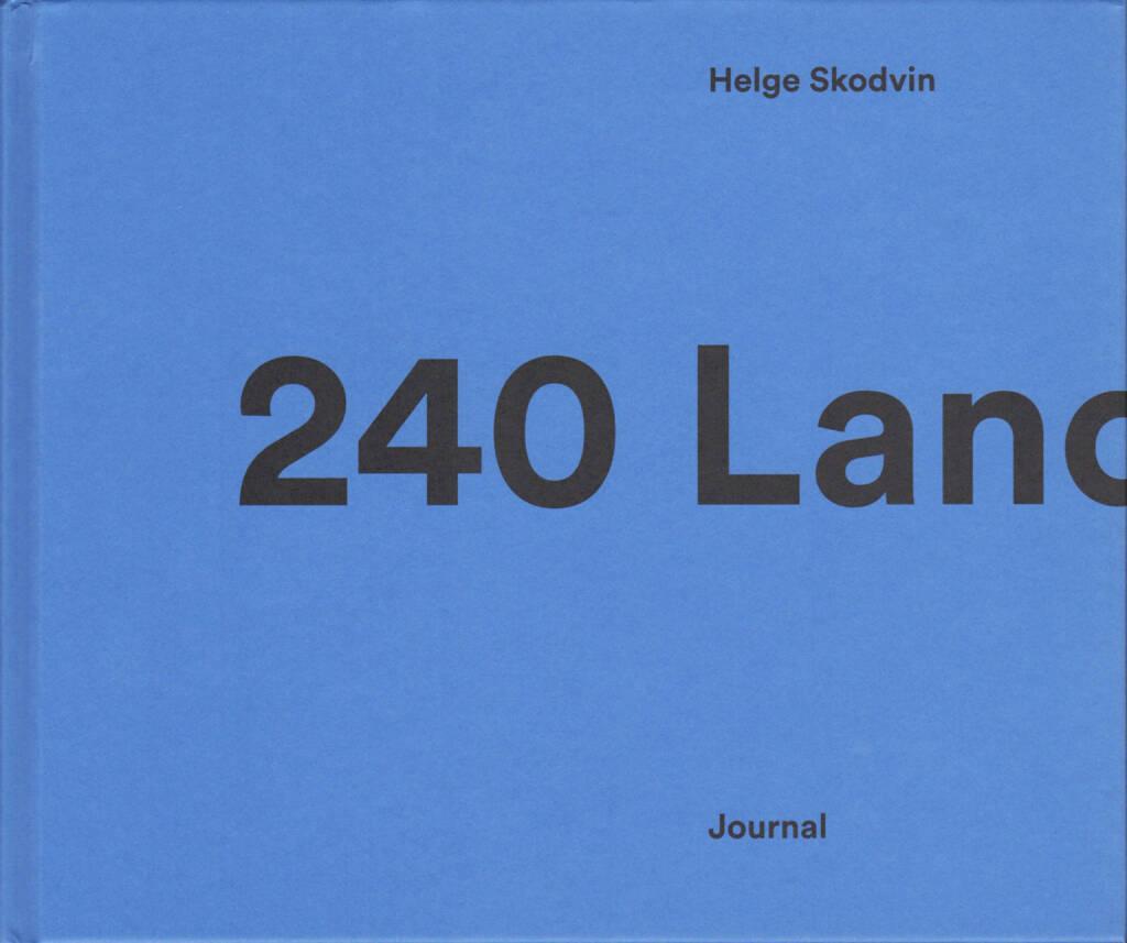 Helge Skodvin - 240 Landscapes, Journal 2015, Cover - http://josefchladek.com/book/helge_skodvin_-_240_landscapes, © (c) josefchladek.com (07.12.2015)