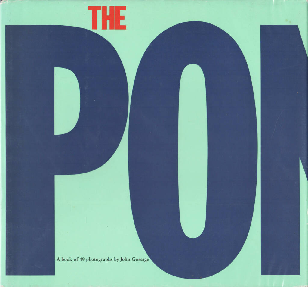 John Gossage - The Pond, Aperture 1985, Cover - http://josefchladek.com/book/john_gossage_-_the_pond, © (c) josefchladek.com (08.12.2015)