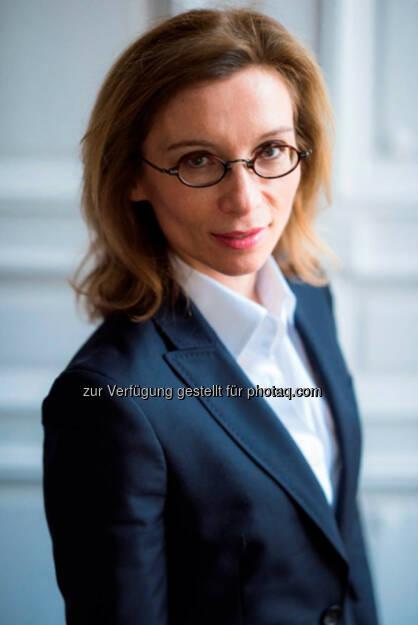 Mathilde Lemoine wird ab dem 7. Januar 2016 die volkswirtschaftliche Abteilung der Edmond de Rothschild-Gruppe leiten., © Aussender (15.12.2015)