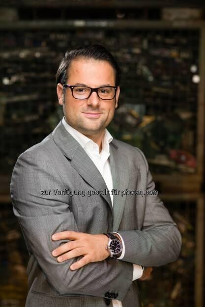 Robert Töscher (33) neuer Prokurist und Leiter der Finanzen im UFH (C) Bernhard Wolf/UFH, © Aussender (15.12.2015)