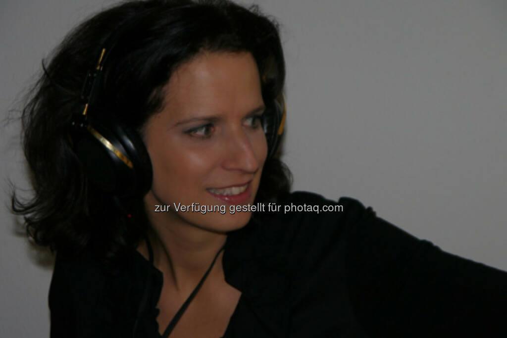 Alice Herzog übernimmt Radio Niederösterreich-Nahaufnahme : Fotocredit: ORF NÖ, © Aussender (17.12.2015)