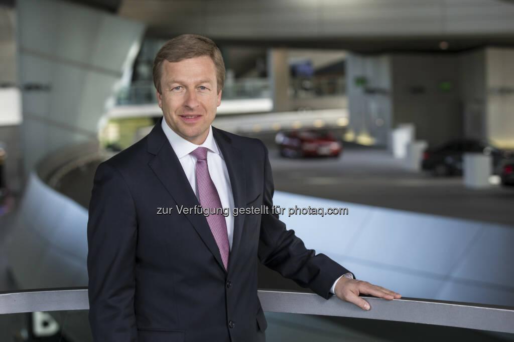 Oliver Zipse, Mitglied des Vorstands der BMW AG : Produktion der BMW Group erreicht 2015 neue Bestwerte : © BMW Group, © Aussender (17.12.2015)