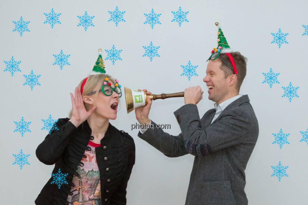 Weihnachtswhispers: Herzdame Tine Kaltenecker, Martin Watzka, © Martina Draper/photaq (23.12.2015)