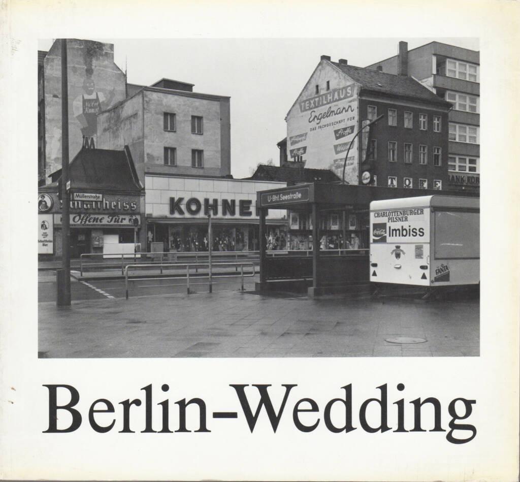 Michael Schmidt - Berlin-Wedding, Galerie u. Verlag A. Nagel 1978, Cover - http://josefchladek.com/book/michael_schmidt_-_berlin_-_wedding, © (c) josefchladek.com (26.12.2015)