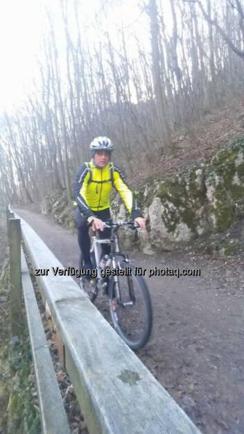 Michael Lagler, Omotion: Biketour zum Hohen Lindkogel, © Michael Lagler (28.12.2015)