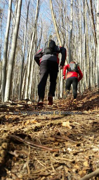 Philipp Kovac und Michael Lagler, Omotion, bergauf, hinauf, Stock und Stein, © Michael Lagler (28.12.2015)