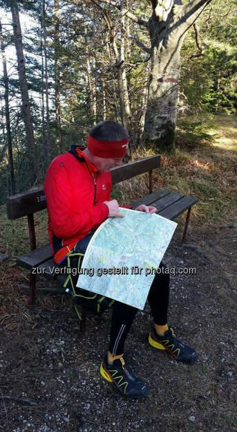 Philipp Kovac, Karte, Orientierung, Weg, Richtung, © Michael Lagler (28.12.2015)