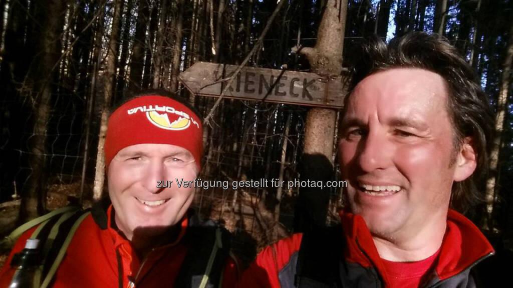 Philipp Kovac und Michael Lagler, Omotion am Kieneck, © Michael Lagler (28.12.2015)