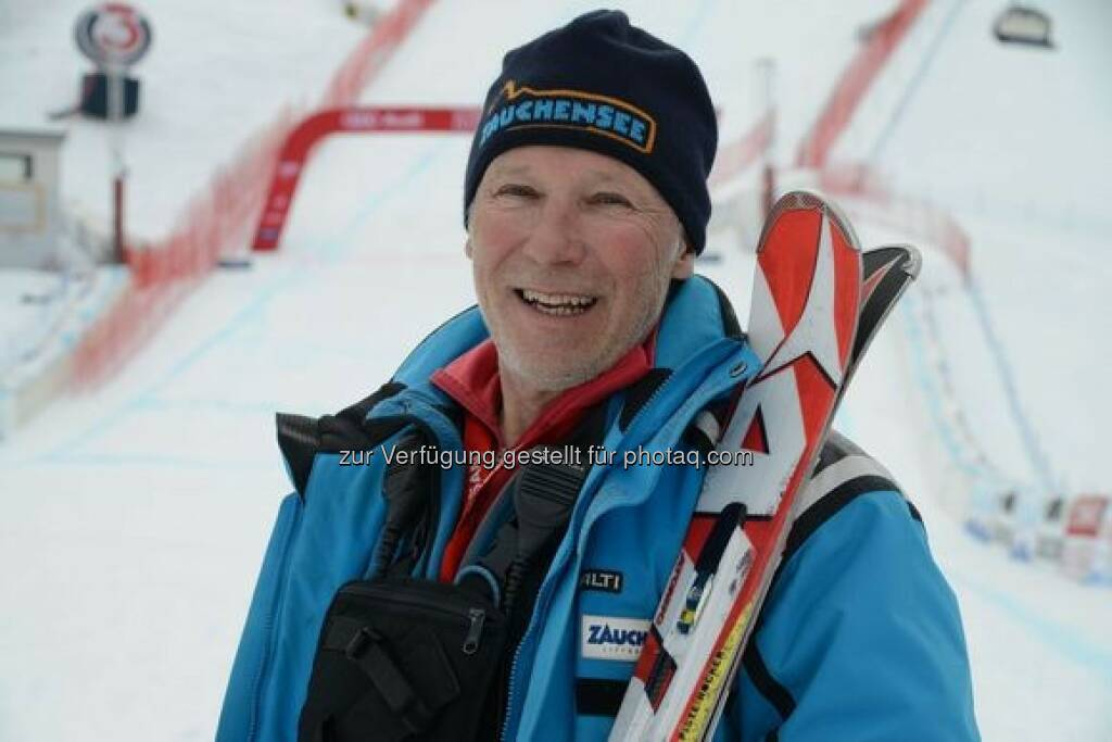 """Heinz Stohl (Pistenchef) : AUDI FIS Ski Worldcup Ladies, Altenmarkt/Zauchensee 9. u. 10.1.2016 : Speed-Rennen werden zum TV-Spektakel - Stohl: """"Wir wollen ein Damen-Klassiker werden"""" : Fotocredit: AUDI FIS Ski Worldcup Ladies, Altenmarkt/Zauchensee, © Aussendung (04.01.2016)"""