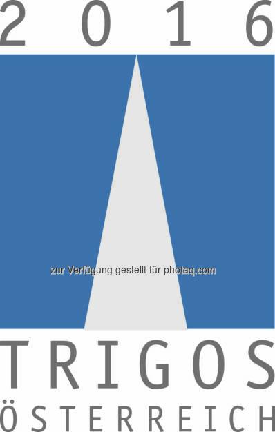 Trigos Logo 2016 :  Trigos - der renommierteste Preis für verantwortungsvolles Wirtschaften in Österreich – Bewerbungsbeginn : Ausgezeichnet werden jene Betriebe, die Corporate Social Responsibility (verantwortungsvolles Wirtschaften) in all ihre Handlungsfelder integrieren und entsprechende Maßnahmen in Hinblick auf die angebotenen Produkte oder Dienstleistungen, den Einkauf, die MitarbeiterInnen und auch im Bereich Umwelt und Gesellschaft setzen : Fotocredit: Trigos Büro, © Aussendung (11.01.2016)