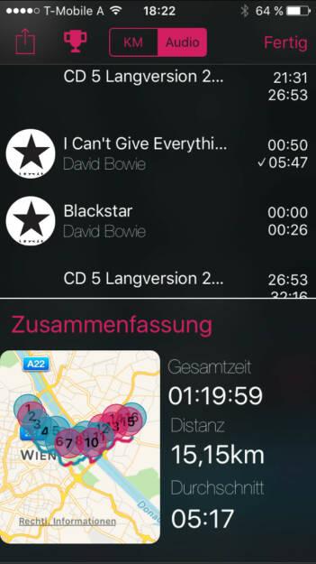 Blackstar von Bowie im Mix mit unserer 25 Jahre ATX Langversion CD 5 auf http://www.runplugged.com/app (16.01.2016)