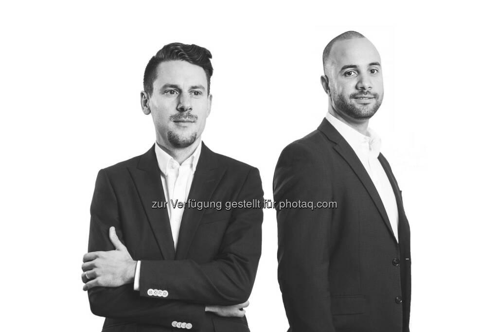 David Rhotert, Tamo Zwinge: Gründer und Geschäftsführer von Companisto Fotonachweis: Companisto, © Aussender (17.01.2016)