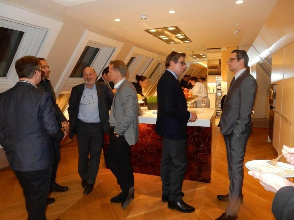 LOEWE-PK im Park Hyatt, Jänner 2016: Am 14.1. fand im exklusiven Rahmen des Park Hyatt Vienna die LOEWE-Pressekonferenz zum Neustart des Unternehmens statt. Zahlreiche Medienvertreter sowie LOEWE Galeristen waren bei der Präsentation in der Royal Penthouse Suite anwesend. (18.01.2016)
