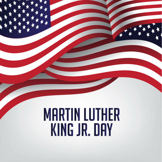 Martin Luther King Day, Amerikanische Flagge http://www.shutterstock.com/de/pic-351010019/stock-photo-martin-luther-king-day-american-flag-illustration.html, © www.shutterstock.com (18.01.2016)