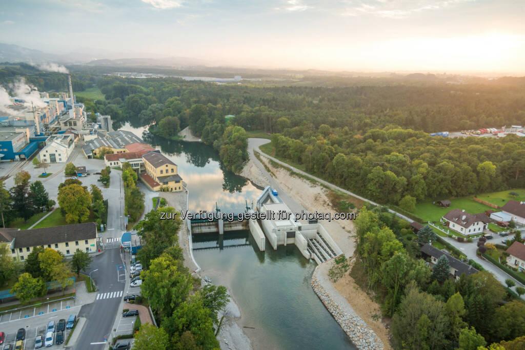 Wasserkraftwerk Hausmening/Ybbs : Soravia Group errichtet umweltfreundliches und leistungsstarkes Wasserkraftwerk an der Ybbs und verkauft an Wien Energie : Fotocredit: Soravia Group, © Aussendung (22.01.2016)