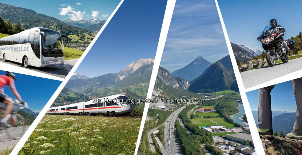 Anreisemöglichkeiten in die Ferienregion TirolWest : TirolWest mit neuer Domain www.mobil.tirolwest.at auf Überholspur in Punkto Mobilität : Fotocredit: Fotocredit: Archiv TVB TirolWest, © Aussender (01.02.2016)