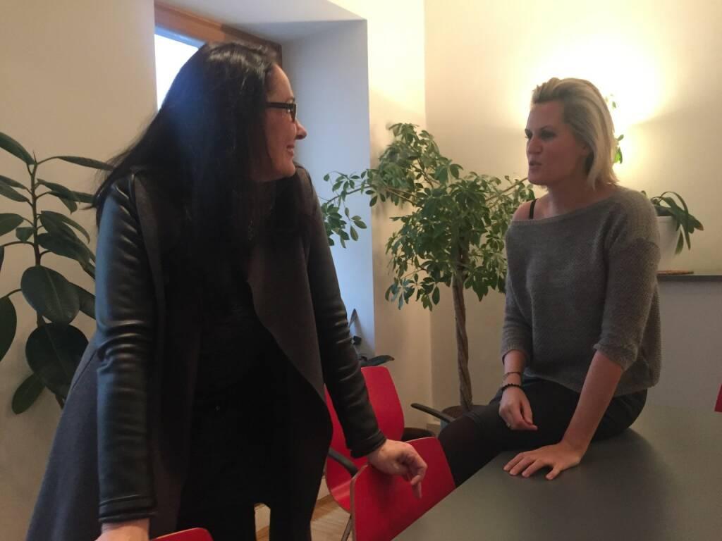 Mit Snezana Jovic und Heidi Schuller-Hrusa (03.02.2016)