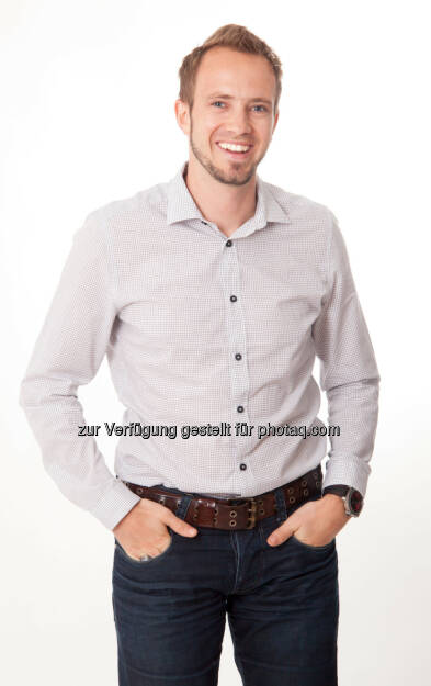 Michael Hurnaus (CEO und Co-Founder) : Ein in der Schweiz ansässiger Privatinvestor steigt bei Tractive ein : Spezialist für GPS Hundeortung erhält Kapital für Wachstum : Fotocredit: Tractive, © Aussendung (04.02.2016)