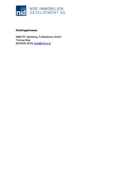 Hypo NÖ startet mit neuem Immobilienentwickler NOE Immobilien Development AG, Seite 2/2, komplettes Dokument unter http://boerse-social.com/static/uploads/file_609_hypo_no_startet_mit_neuem_immobilienentwickler_noe_immobilien_development_ag.pdf (08.02.2016)