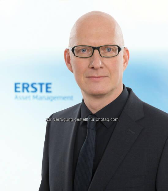 Winfried Buchbauer neuer Geschäftsführer der Erste Asset Management : Fotocredit: Erste Asset Management, © Aussendung (09.02.2016)