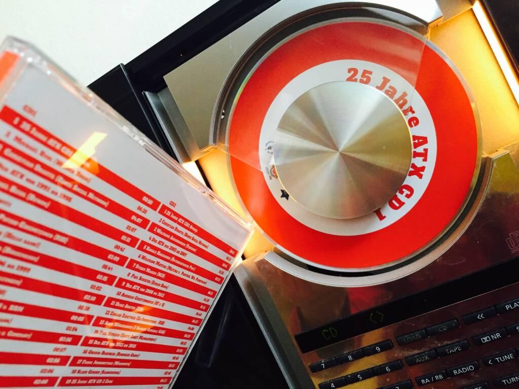 Die 25 Jahre ATX-CD erstmals eingelegt, viele Friends drauf (12.02.2016)